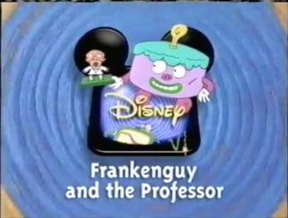 Frankenguy and the Professor Disney Logo