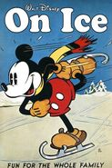 Mickey Mouse On Ice Poster