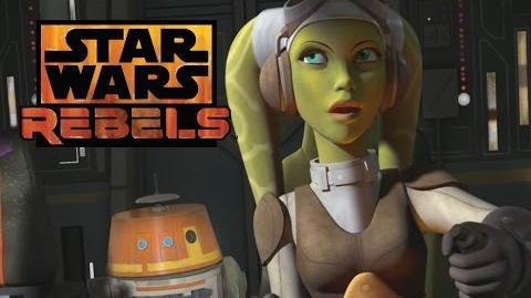 STAR WARS REBELS - Exklusive Preview!! Chopper in Aktion HD Disney XD