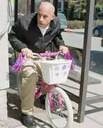 Shane Wolfe Riding a Bike