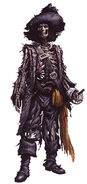 Skeletal Barbossa