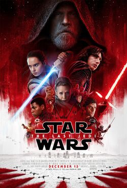 Star Wars The Last Jedi Poster Official