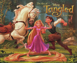 The Art of Tangled cover