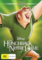 The Hunchback of Notre Dame 2016 Australia DVD