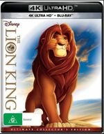 The Lion King 2018 AUS 4K and Blu