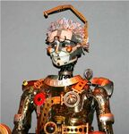 The timekeeper animatronic