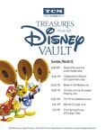 Treasures from The Disney Vault Schedule