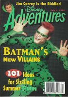 Disney adventures magazine cover july 1 1995 jim carrey riddler