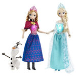 Frozen Anna,Elsa and Olaf Doll Giftset