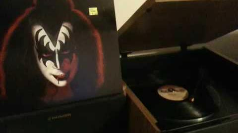 Gene Simmons When you wish upon a Star vinyl