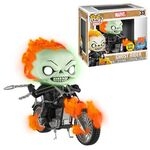 Ghost Rider with Motorcycle GITD POP