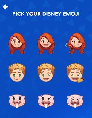 Kim Possible Emojis