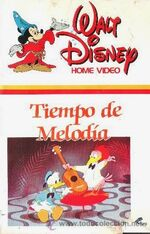 Melody Time 1985 Spain VHS
