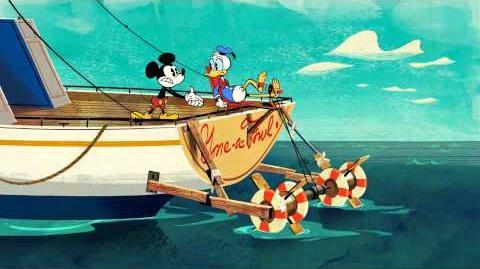 Mickey Mouse Kapitein Donald Disney NL