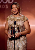 Queen Latifah speaks at HFA