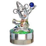 Sorcerer Mickey Mouse Figurine on Base by Arribas - Walt Disney World