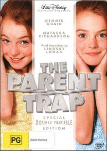 The Parent Trap Remake 2006 AUS DVD