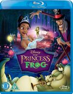 The Princess and the Frog 2010 Blu-ray