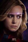 Avengers Endgame - Captain Marvel poster