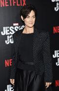 Carrie-Anne Moss Jessica Jones premiere