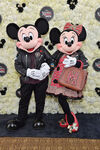 Coach Minnie and Mickey Mouse