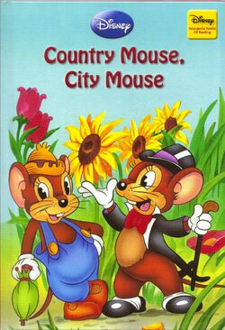 Country Mouse City Mouse disney wonderful world of reading hachette