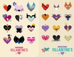 Disney Villains Valentinee