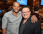 Donald Faison & Wayne Knight at Exes premiere