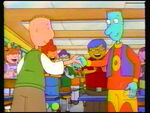 Doug and skeeter handshake