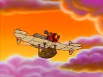 Gummi Flying Machine Flying