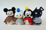 Kingdom Hearts Disney D23 tsum tsum box set