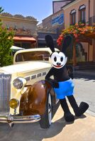 Oswald on buena vista street