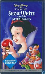 Snow White and the Seven Dwarfs 2001 Dutch VHS English Version