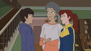 Spider-Man - 3x02 - Amazing Friends - Peter Parker, Aunt May and Mary Jane