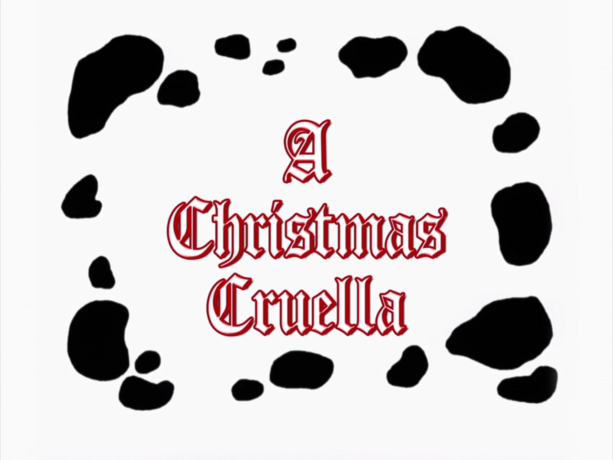 A Christmas Cruella   Disney Wiki   FANDOM powered by Wikia