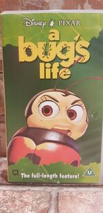A Bugs Life (1999 UK VHS) (Francis)