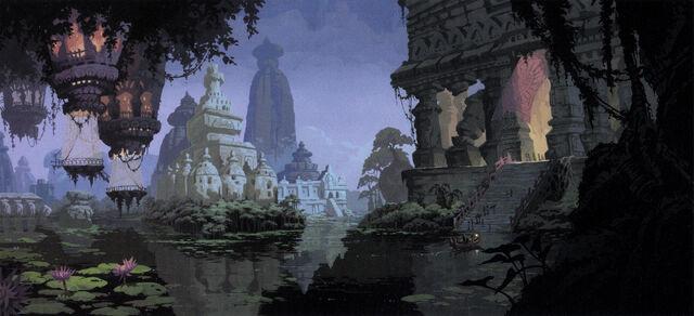 Treasure Island Minecraft Atlantis