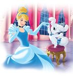 Cinderella & pumpkin