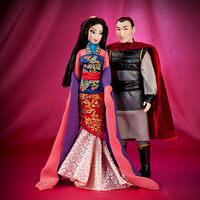 Disney Fairytale Designer Collection - Fa Mulan and Li Shang Dolls