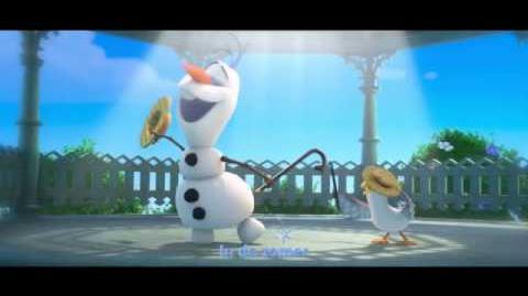 Frozen Sing-a-Long In de Zomer Vlaamse Versie