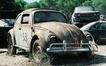 Herbie in the junkyard
