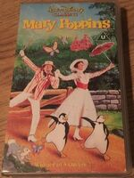 Mary Poppins 1992 UK VHS