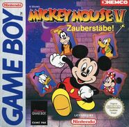 Mickey magic wands german cover