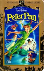 Peter Pan 1998 French Canadian VHS