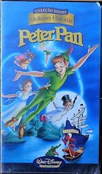 Peter Pan Best Stories Brazil VHS