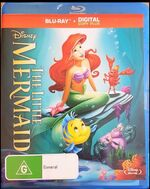 The Little Mermaid 2013 AUS Blu Ray with Digital Copy