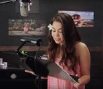 Aulii Cravalho behind the scenes Moana