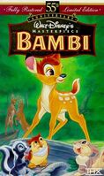 Bambi MasterpieceCollection VHS