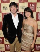 Chris Weitz & wife Mercedes Martinez LAFF11