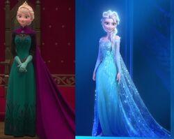 Elsa'soutfits